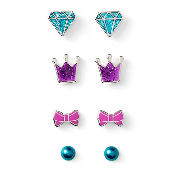 Sparkle Gem Earring Set- $10