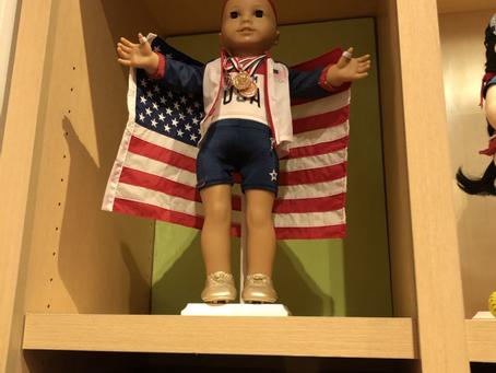 American Girl Store Displays
