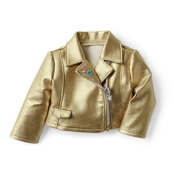Gold Moto Jacket- $15