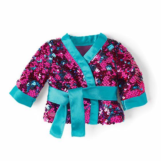 "Sparkling Sequins ""Kimono"" $15"