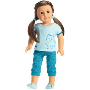 American Girl Doll Truly Me Pomeranian Pajamas, American Girl Doll Pajamas, American Girl Doll Truly Me Pajamas, American Girl Doll Puppy Pajamas, American Girl Doll Just Like You 59, American Girl Doll Anita Schoffman, American Girl Doll Anita Stops The Bullying