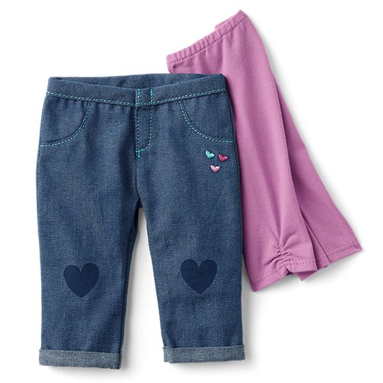 Jeans and Leggings Set- $15