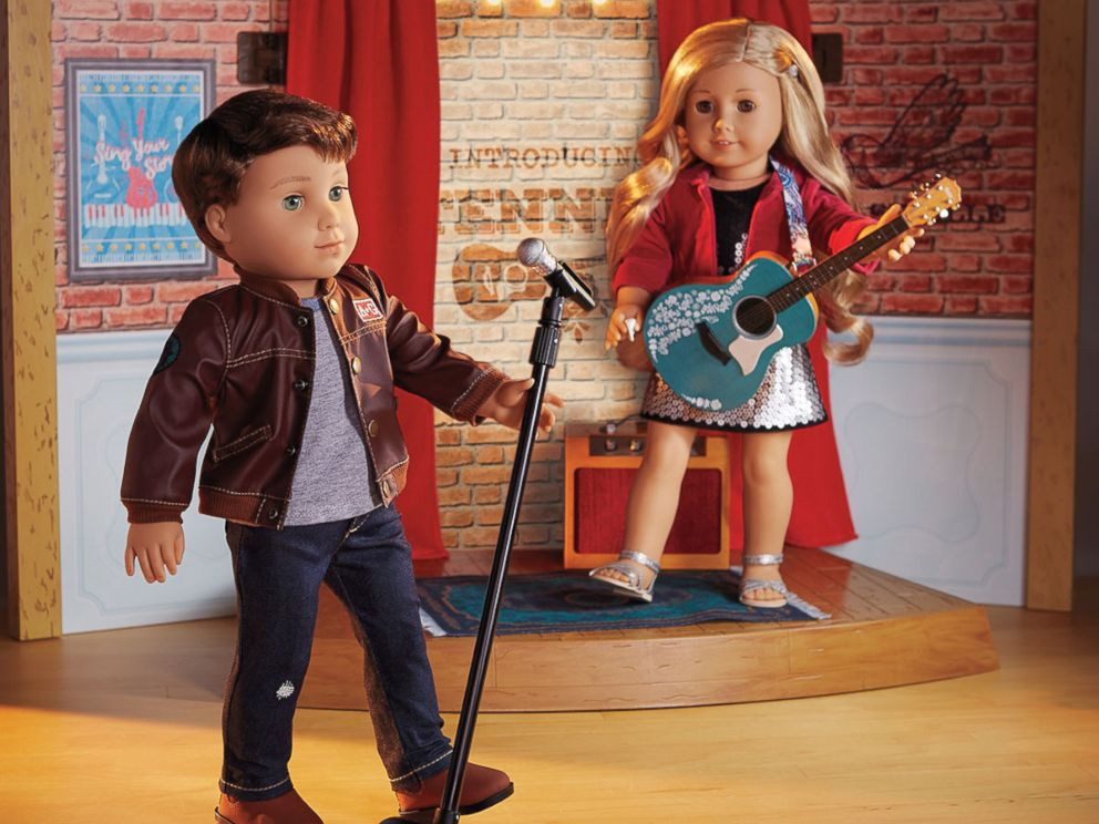 logan everett, american girl doll logan everett, american girl logan, american boy doll, logan everett doll,
