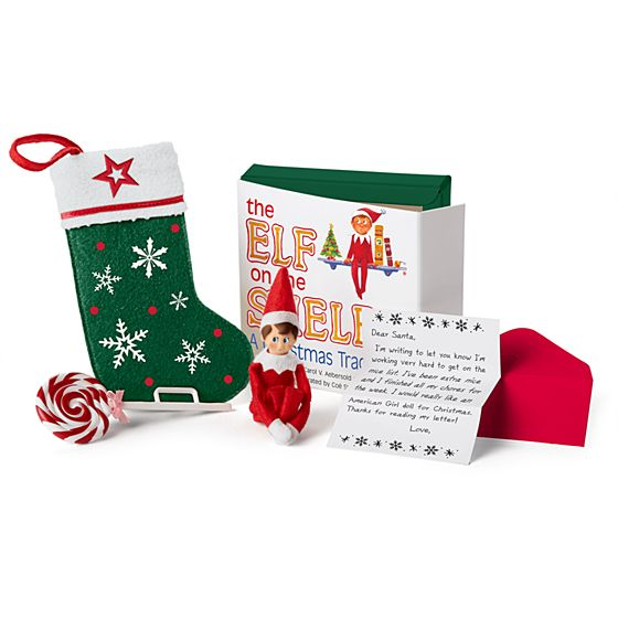Elf On The Shelf Set- $20