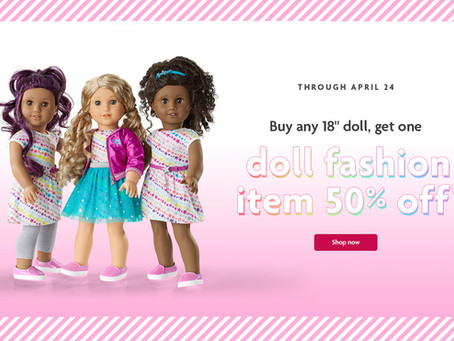 American Girl Doll and Fashion Deal!