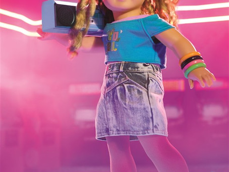 The 80s Are Totally Back at American Girl with Courtney Moore