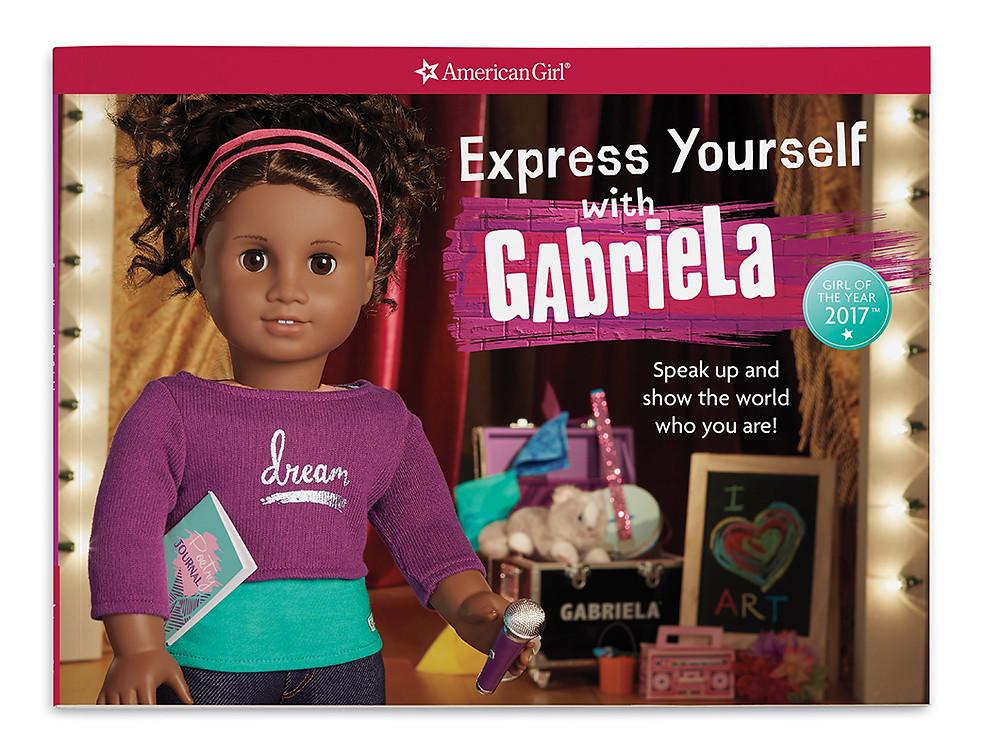 Girl of the Year 2017, Gabriela McBride, Express Yourself with Gabriela, Gabriela American Girl Crafts