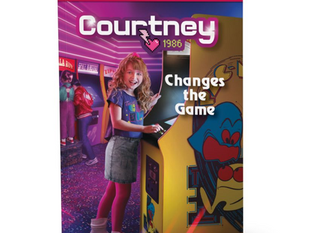 Courtney Changes The Game Book