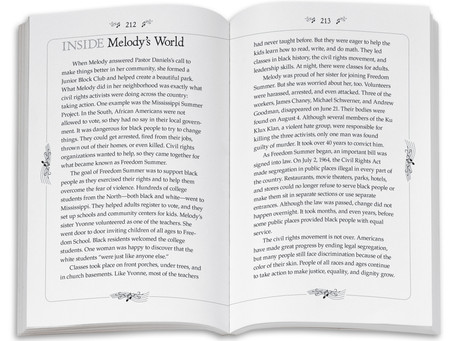Melody Book 2 Chapter Titles and Inside Melody's World!