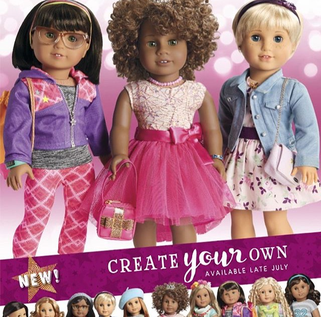 Create your own american girl doll