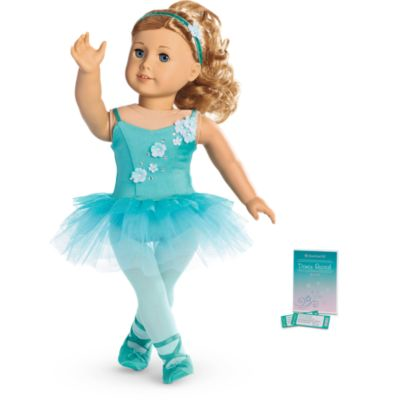 American Girl Doll Truly Me Ombre Ballet Outfit, American Girl Doll Ballet Outfit, American Girl Doll Leotards, American Girl Doll Just Like You 33, American Girl Doll Maddy Grace Stirs Up Success, American Girl Doll Blue Ballet Outfit, American Girl Doll Isabelle Palmer Outfits, American Girl Isabelle Palmer, Girl of the Year 2014 American Girl, Isabelle Dances Into the Spotlight Television Movie 2014, American Girl Doll Isabelle Palmer McDonald's Happy Meal Toy 2014, American Girl Happy Meal, American Girl Doll Ballerina, American Girl Doll Marisol Luna Girl of the Year 2005 Outfits