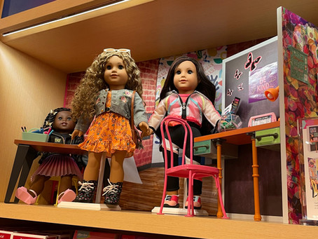 American Girl Charlotte Pictures of World By Us Launch