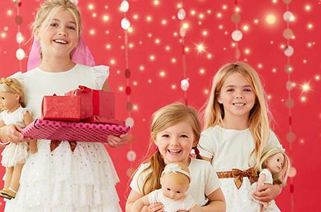 American Girl Holiday Matching Set Sale