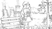 grace american girl coloring page - American Girl Coloring Pages Grace
