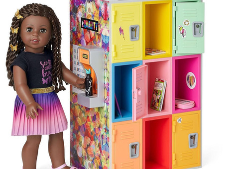 American Girl World By Us Playset: Community Center