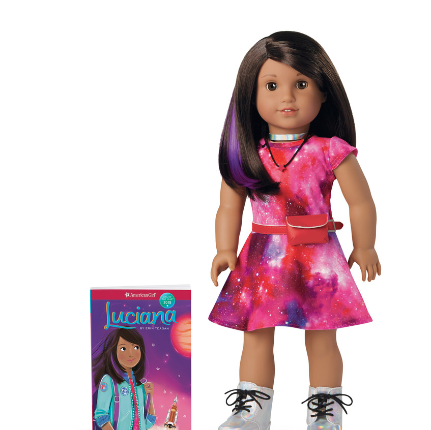 Luciana Doll and Book-HR