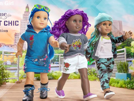 American Girl Truly Me Street Chic Collection
