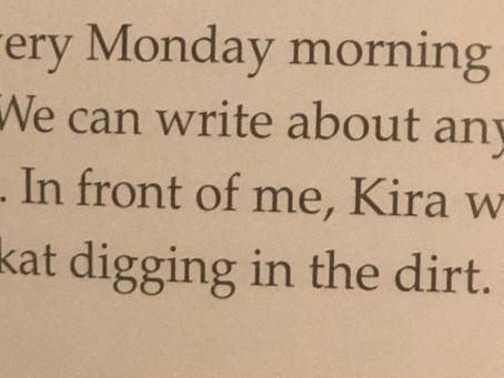 KIRA IN LANIE'S BOOK?
