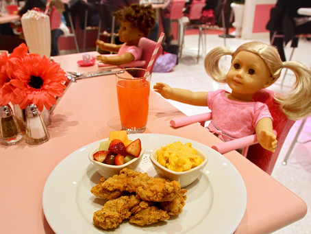 How Much Food Does The American Girl Cafe Serve Every Year?