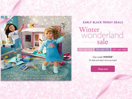 American Girl Winter Wonderland Sale