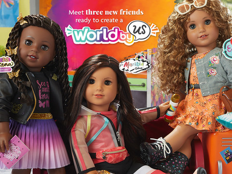 American Girl World By Us Is Live!