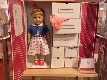 American Girl Store Charlotte Holiday Photos (Historical, Truly Me, World By Us)