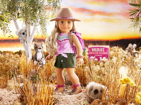 American Girl's 2021 doll of the year is wildlife conservationist Kira Bailey