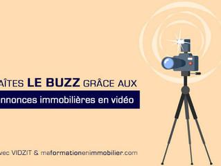 Annonces immobilières en vidéo : Faîtes le buzz avec Vidzit !