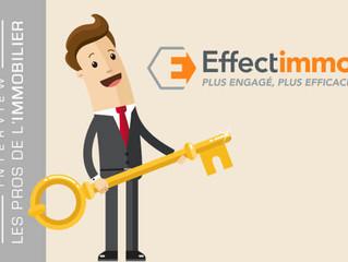 Effectimmo : un réseau d'agents immobiliers novateur et engagé