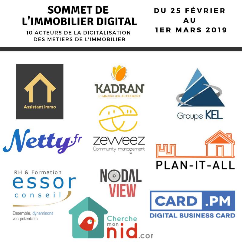 Sommet de l'immobilier 2019