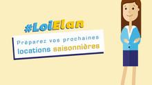 Préparez vos prochaines locations saisonnières #LoiElan