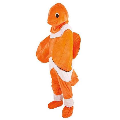 Déguisement de poisson Nemo à tête souple