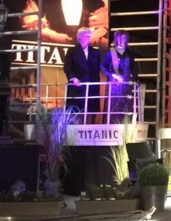 location décor scène du film Titanic
