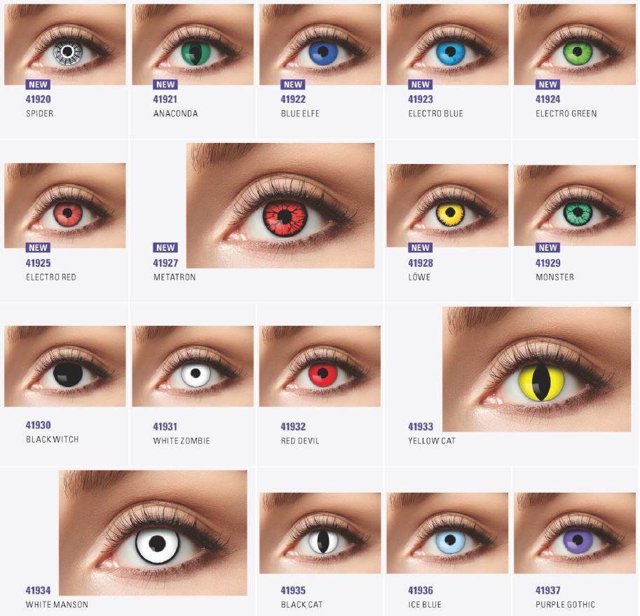 lentilles de couleur tournai