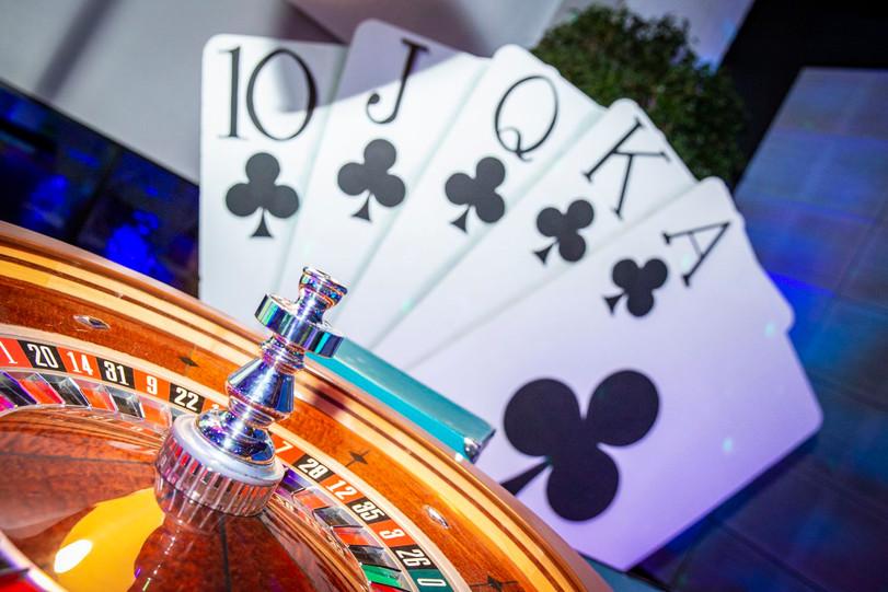 location décor Las Vegas roulette et car