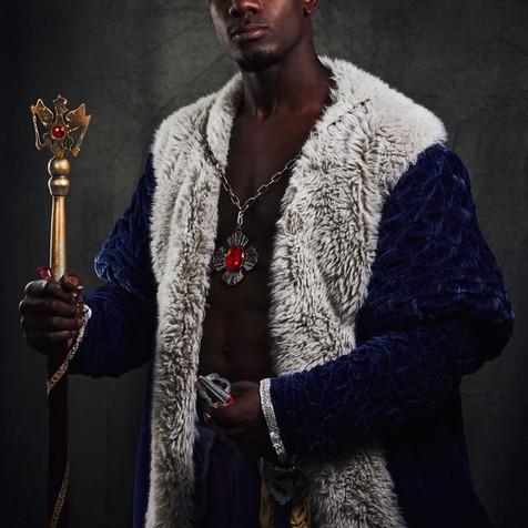 Couronne et sceptre de Roi