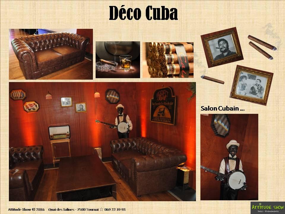 location décor salon cuba