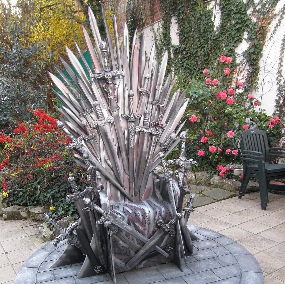 location trône game of thrones grandeur nature