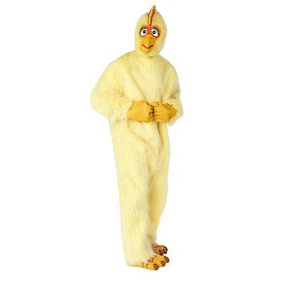 Mascotte de poule à tête en latex