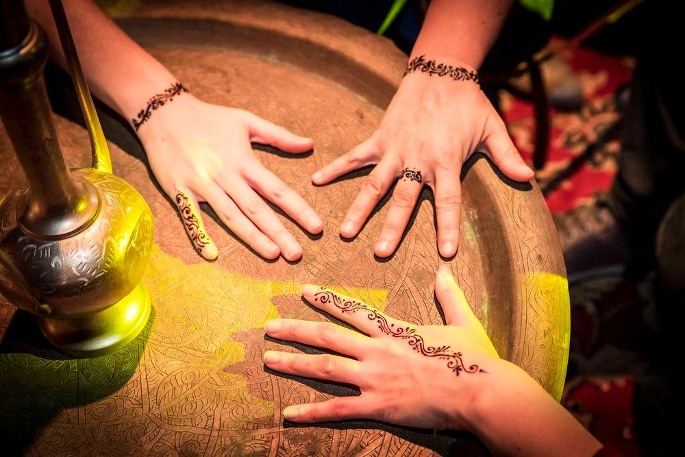 animation tatouage au henné