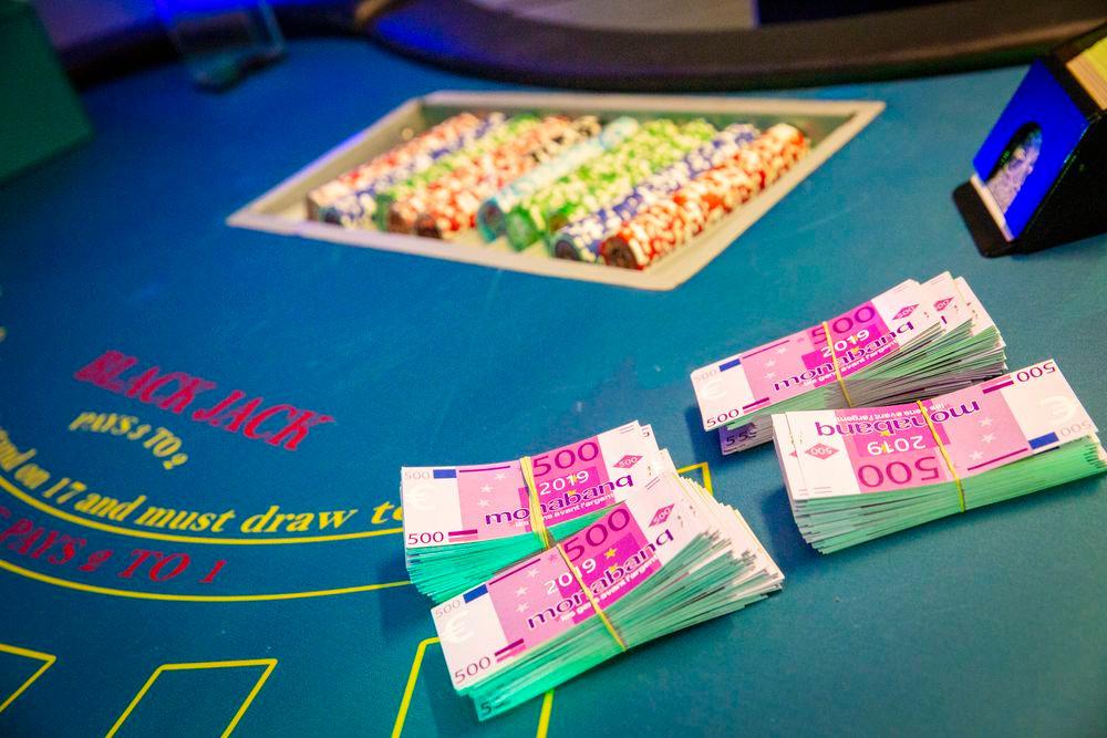 billets de banque personnalisés casino