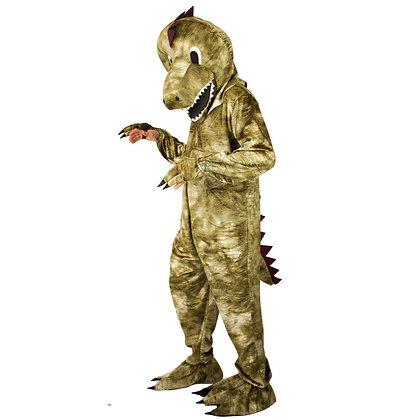 Déguisement de dinosaure à tête souple