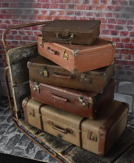 location décor valises