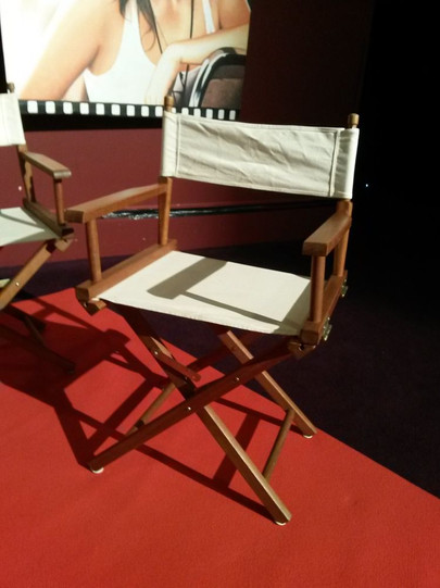 location chaise de réalisateur