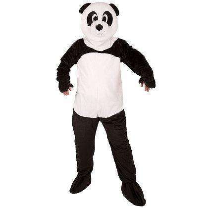 Déguisement de panda à tête souple