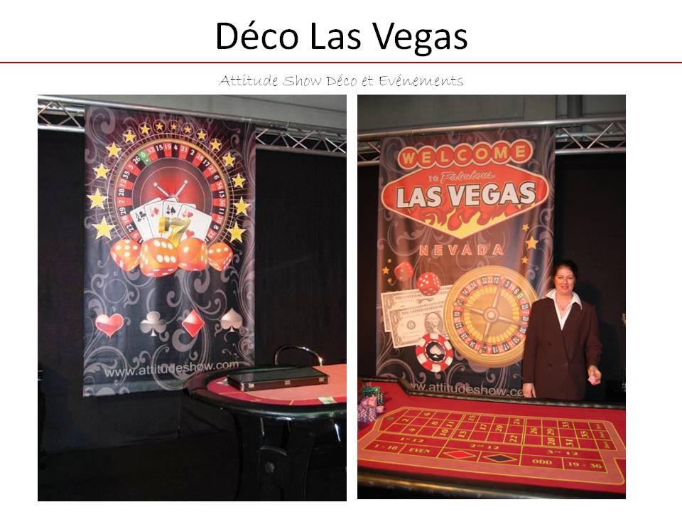location bâche casino Las Vegas à suspen