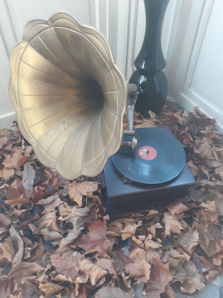 location gramophone à pavillon