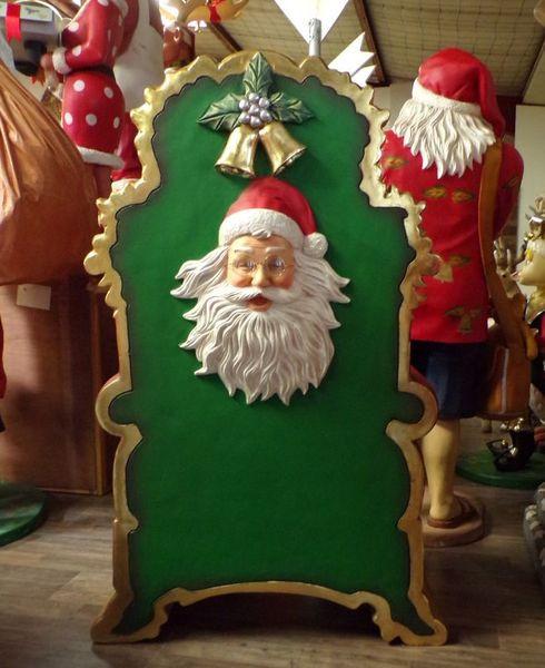 location trône de Père Noël arrière