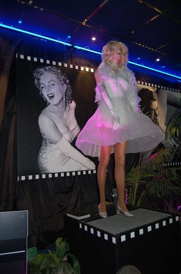 location décor mannequin Marilyn Monroe