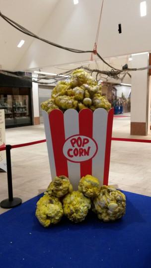 location décor pop-corn géant